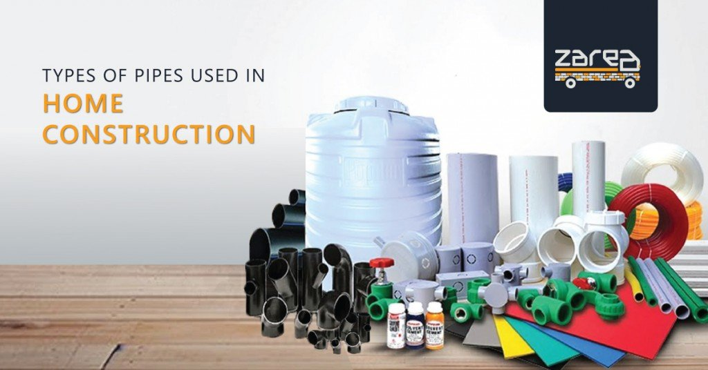 Types of Pipes Used in Home Construction